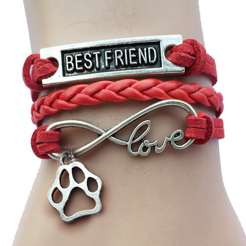 Best Friend Infinity Love Bracelet