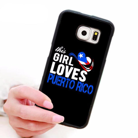 Puerto Rico Silicon Cellphone Case