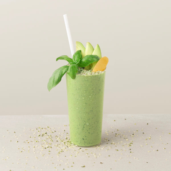 Super Green Hemp Smoothie