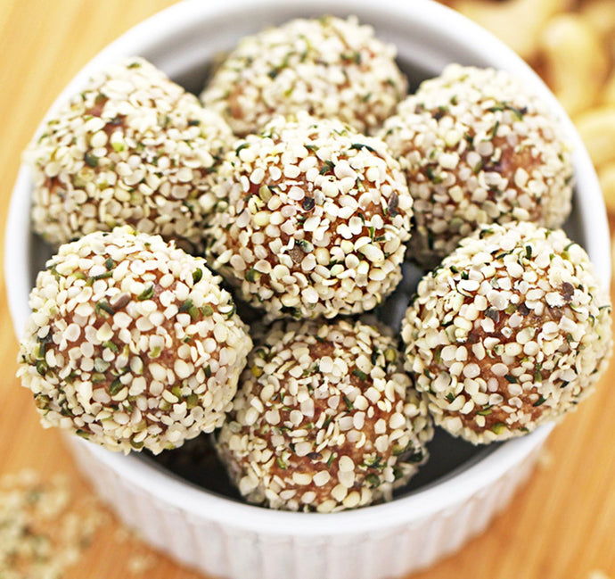 Santa's Secret Hemp Butter Bliss Balls