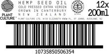 Load image into Gallery viewer, Wholesale Hemp Seed Oil Certified Organic New Zealand Grown