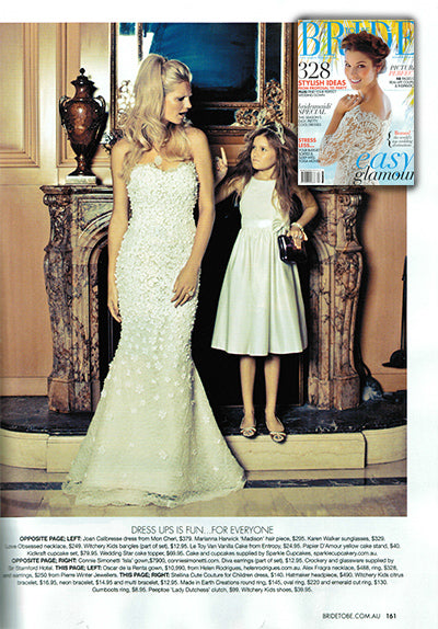 Made in Earth Bride to Be Magazine