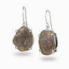 Agate Geode Drop Earrings