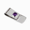 Amethyst Money Clip