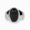 Black Obsidian Skull Ring