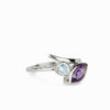 Amethyst & Blue Topaz Ring