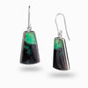 Chrysocolla Cuprite Drop Earrings