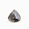 Dendritic Opal Ring