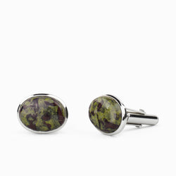Dragons Blood Jasper Cufflinks