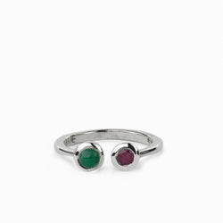 Emerald & Ruby Ring