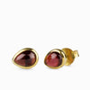 Almandine Garnet Stud Earrings