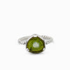 Green Watermelon Tourmaline Ring