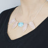 Larimar & Rose Quartz Set
