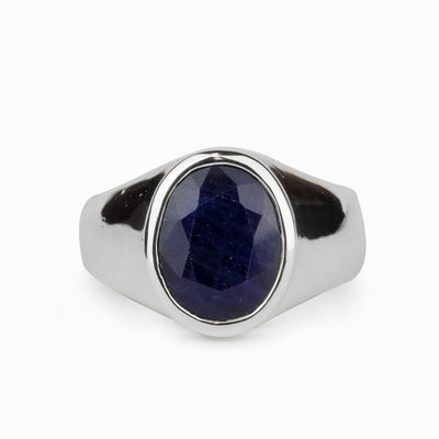 Sapphire Mens Ring
