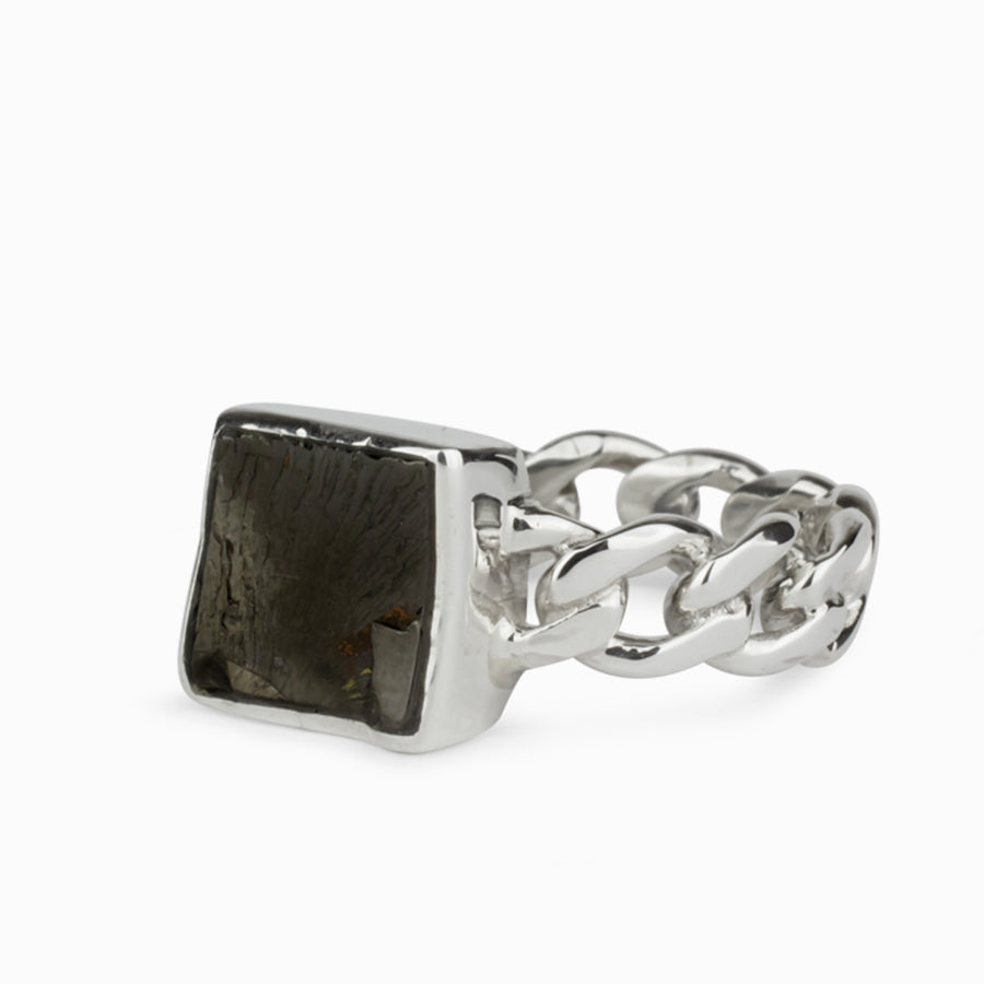 Shungite Mens Ring