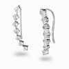 White Topaz Ear Climber