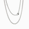 Sterling Silver Medium Cable Chain