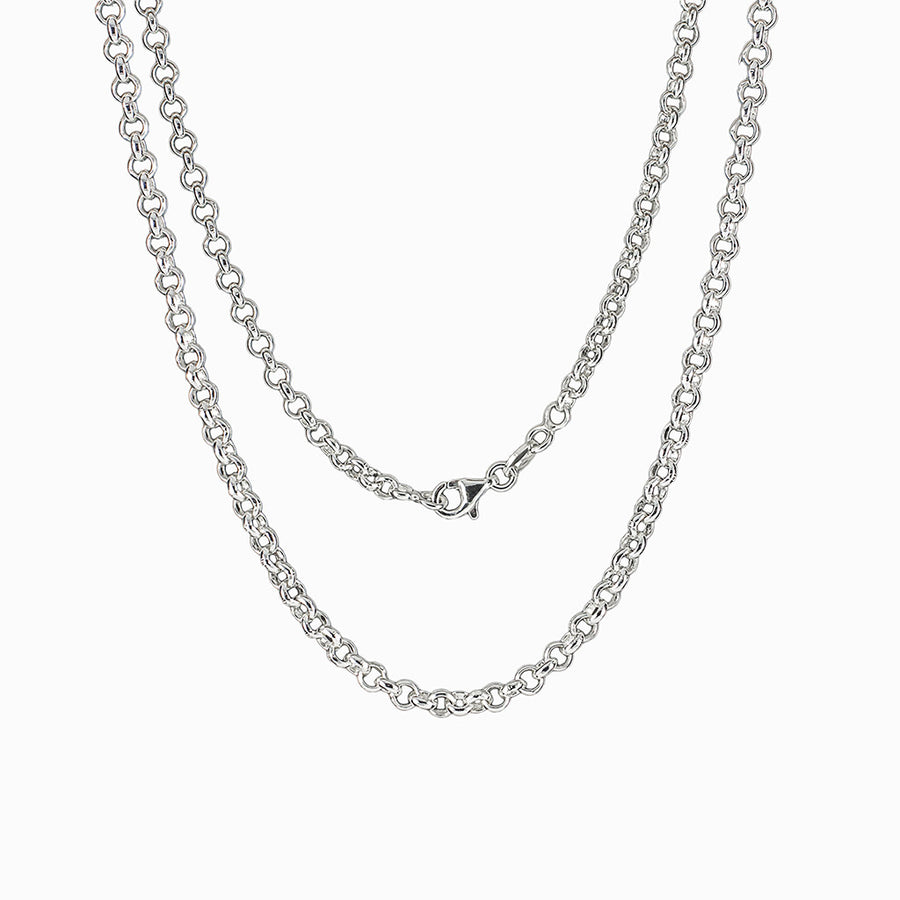 Sterling Silver Medium Rolo Chain
