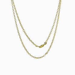 14k Gold Vermeil Medium Belcher Chain