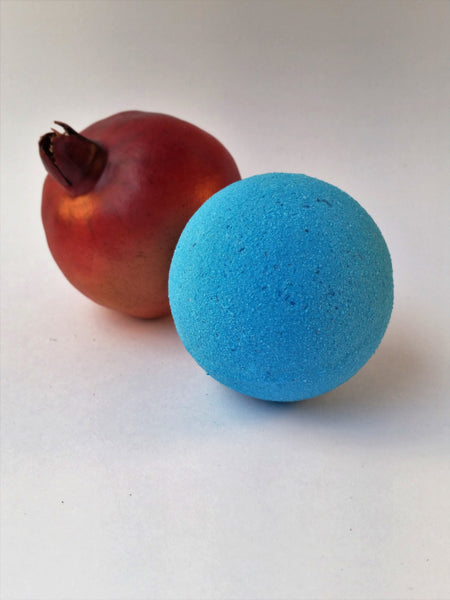 Big Blue Box (Pomegranate Bath Bomb)