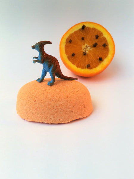 Rawr! (Orange Clove Bath Bomb) - Dinosaur Egg
