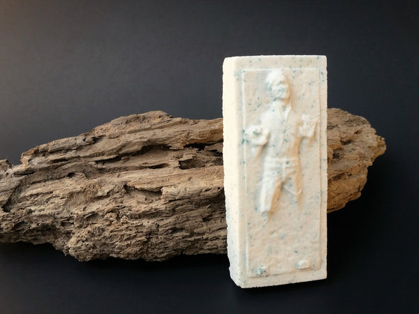 I love you. I know. (Sandalwood Vanilla Bath Bomb) - Han Solo in Carbonite