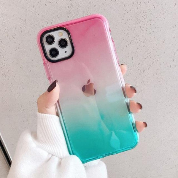 Cara Gradient Jelly iPhone Case