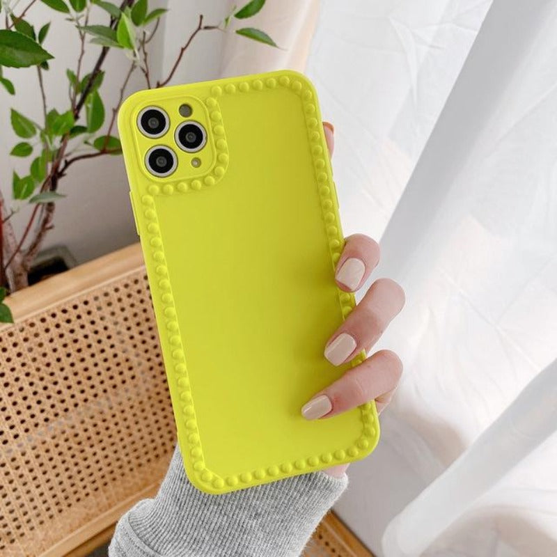 Bibi Florescent Studded iPhone Case