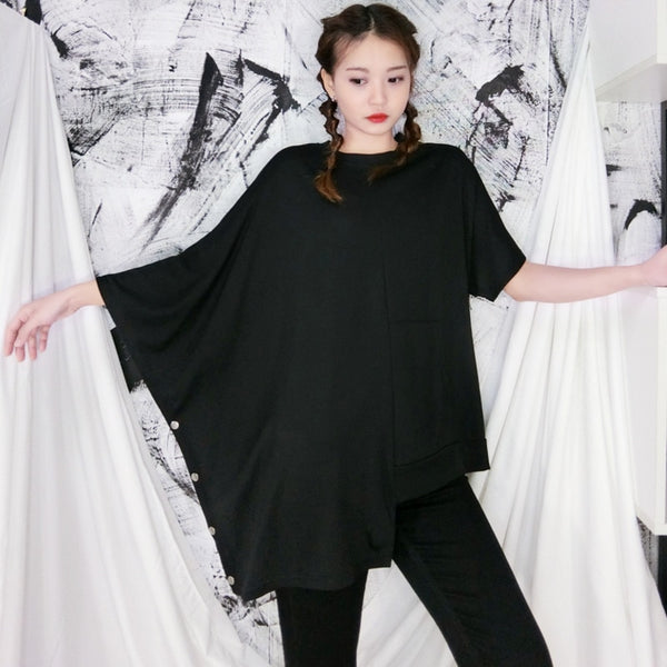 Aren Asymmetrical Pullover Shirt