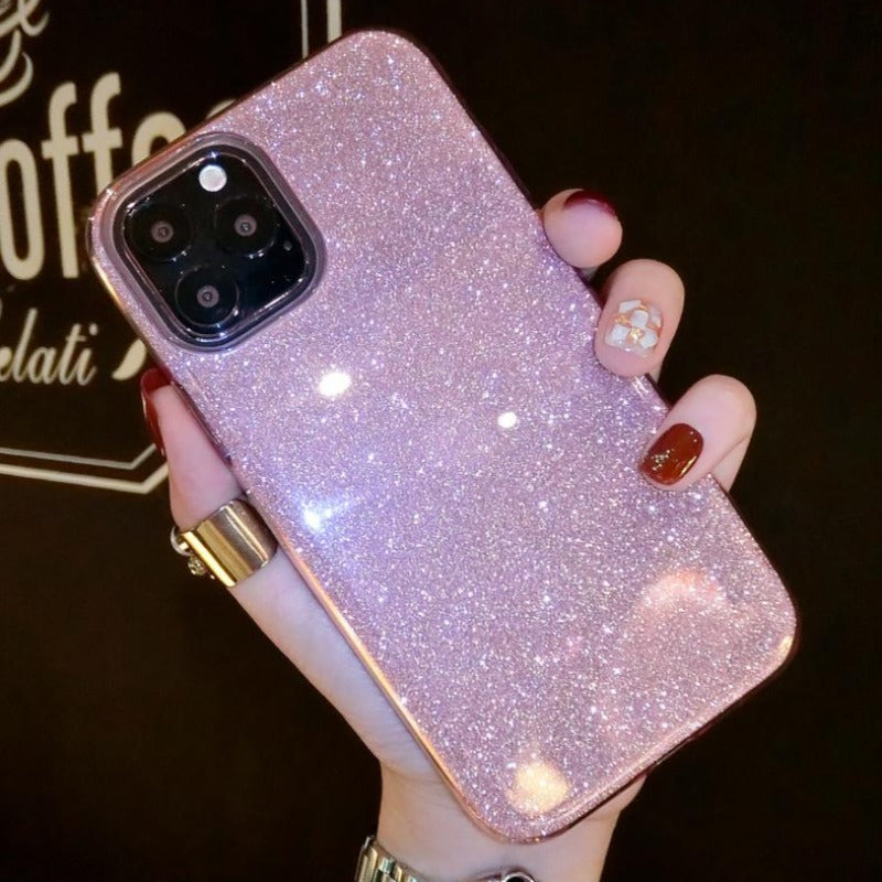 Glitter Addict Jelly iPhone Case