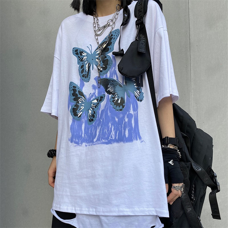 Poloma Oversized Graphic T Shirt
