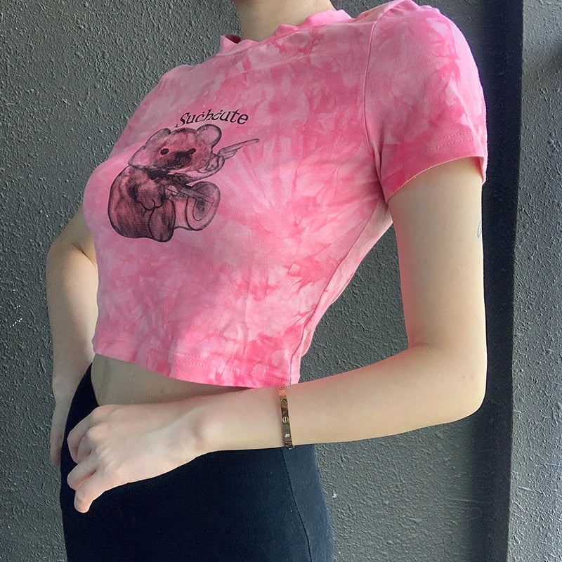 Such Cute Teddy Crop Tee