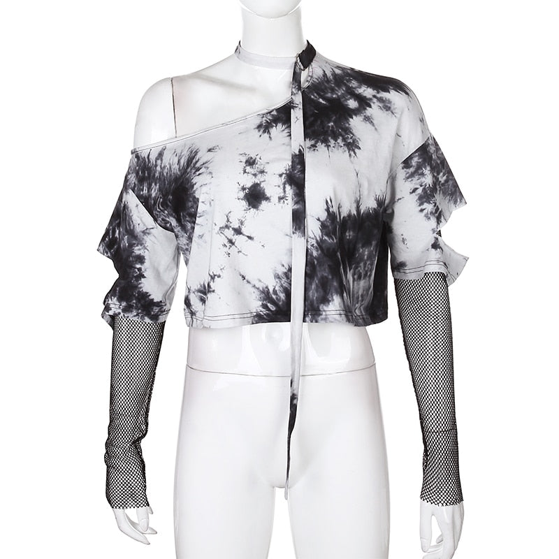 Adara Tie Dye Layered Long Sleeve