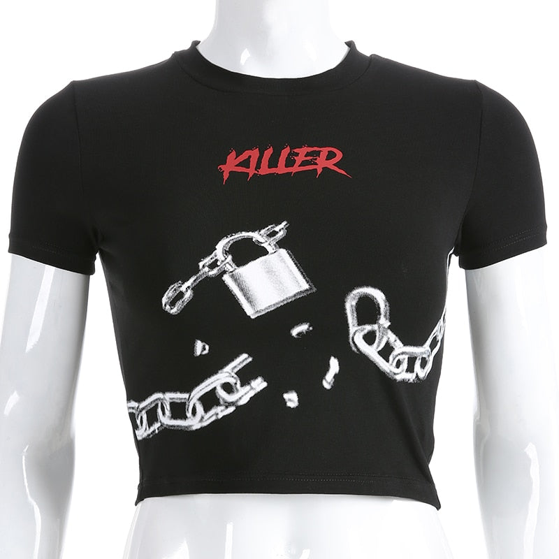 Killer Lock & Chain Tee