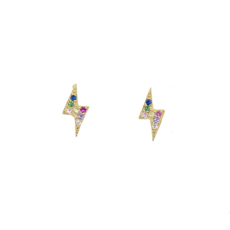 Eva Rainbow Stud Earrings
