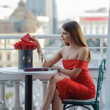 Bliss Dress | Red