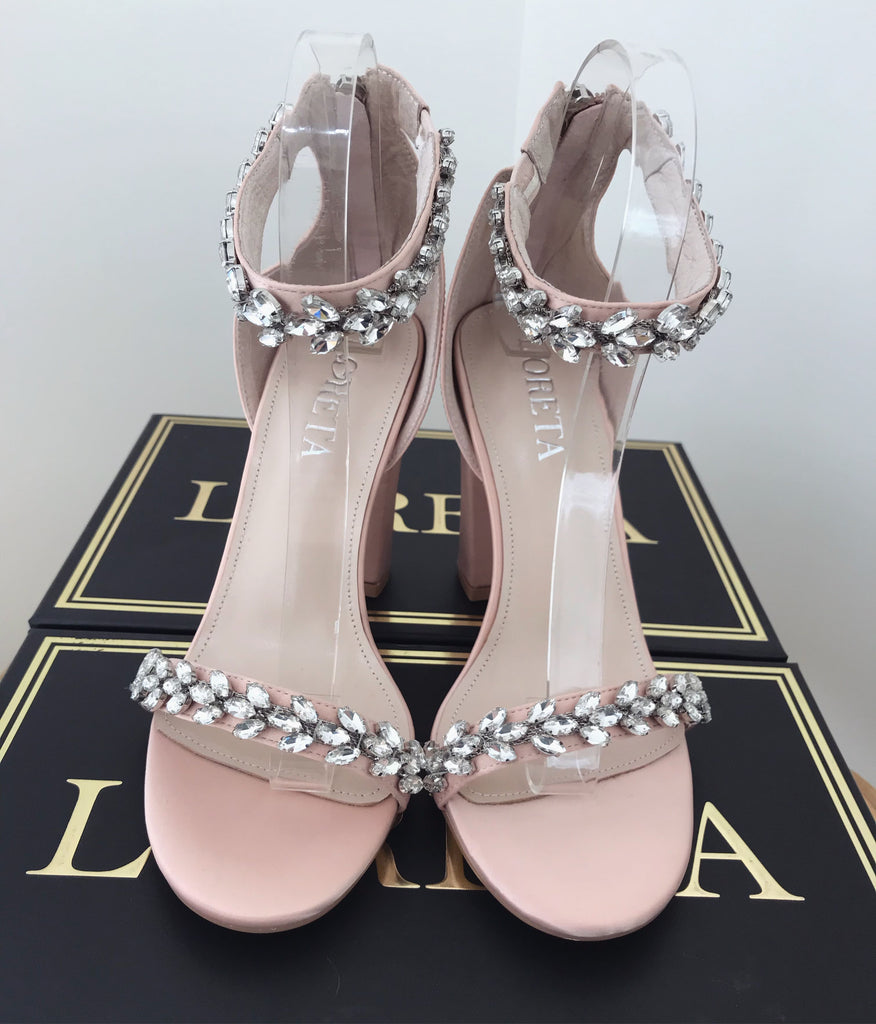California Crystal Shoes