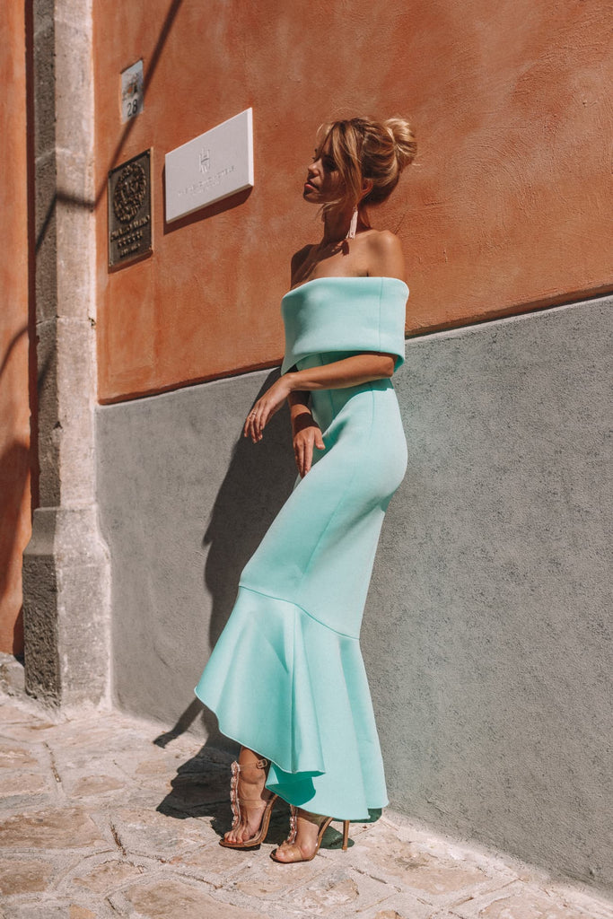 Soft Turquoise Dress