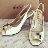 Selma Strap (White) (35/39EU ONLY)