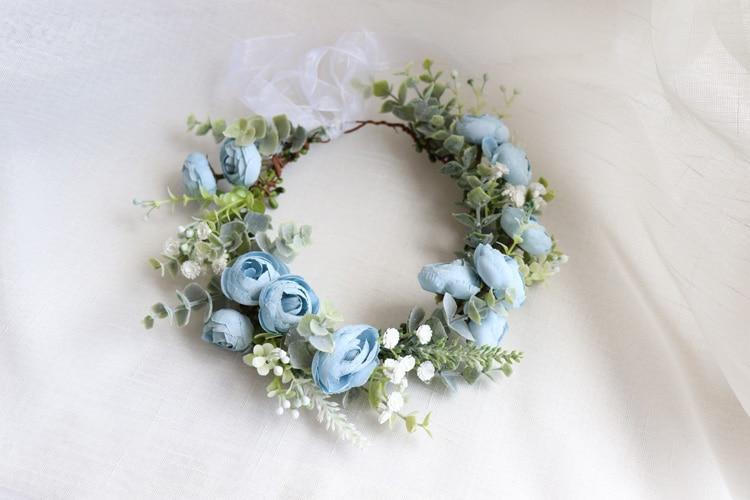 Floral Garland for Bridal/Wedding/Maternity Shoot - Daisy