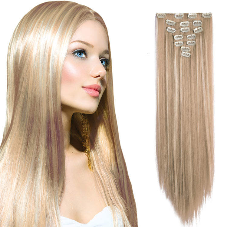 "Clip-in Hair Extensions 20"" length, 7pcs set"