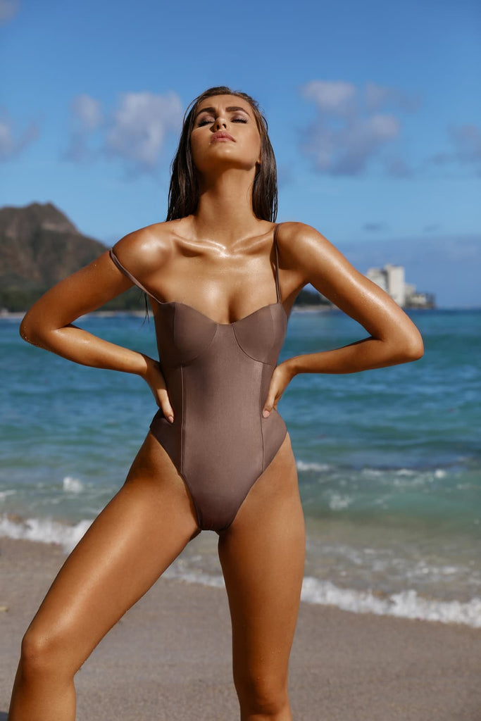 womens one piece swimsuit luxury black nude white