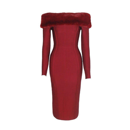 products/bandage-fur-dress-australia-loreta.jpg