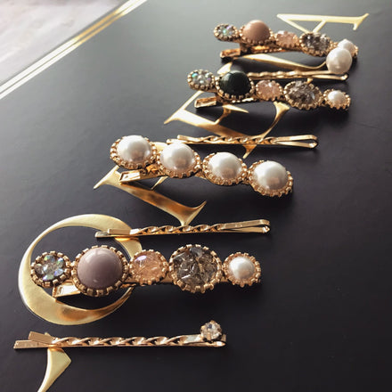 Bridal Hair Clips Pins Set (8pcs)
