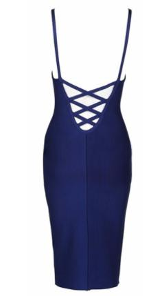 womens-bandage-blue-navy-open back-backless-luxury-bodycon-dress
