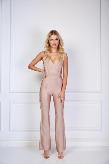 products/loreta_brown_beige_bandage_bodycon_jumpsuit_loreta_womens_australian_clothing.jpg