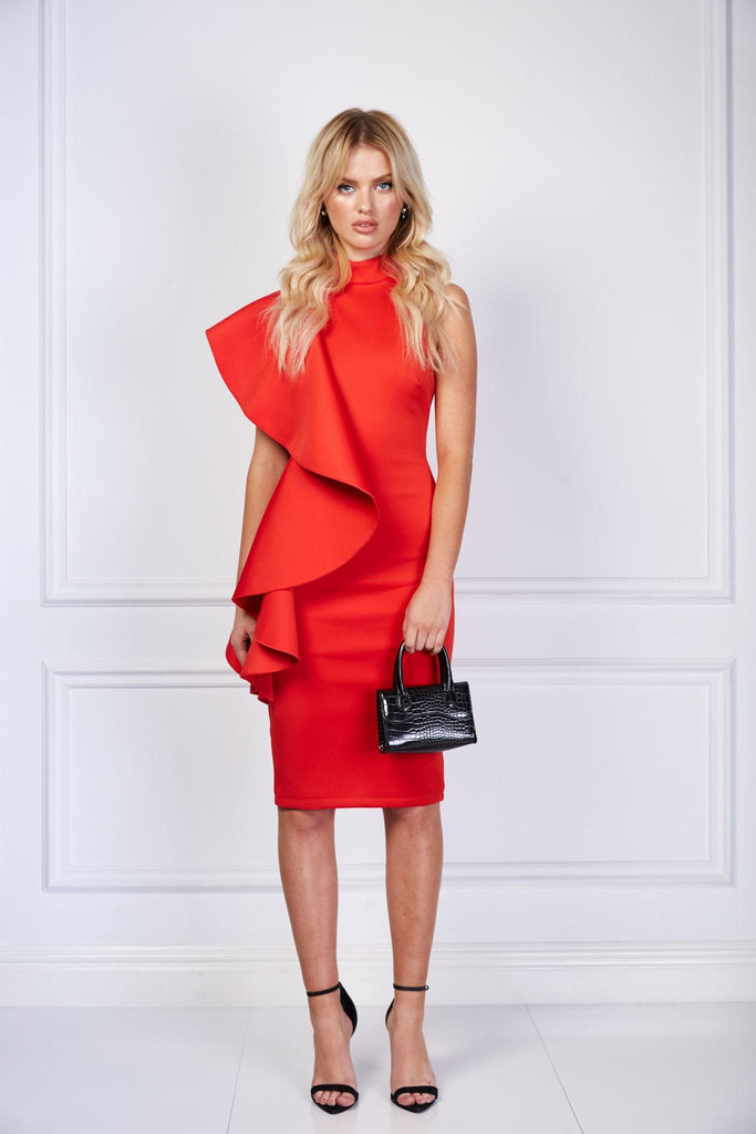 Lorenzo Dress | Red
