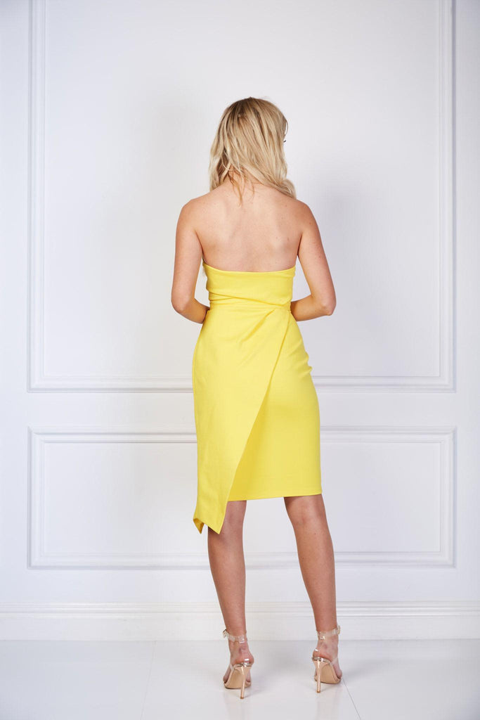 Just Got Paid Dress - Yellow