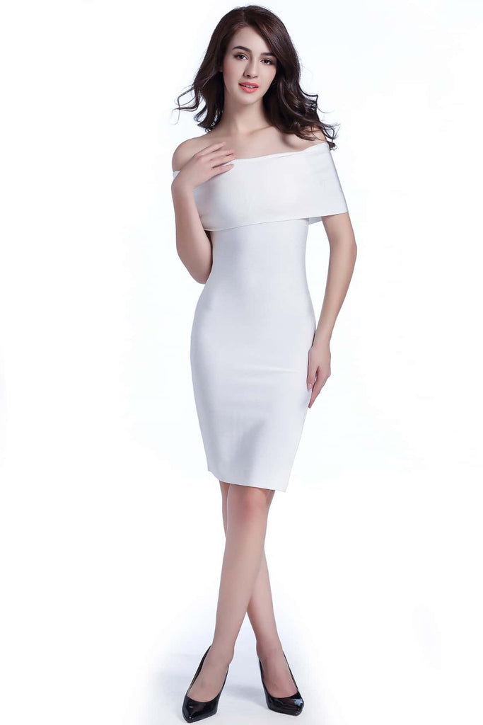 Trisha Dress | White