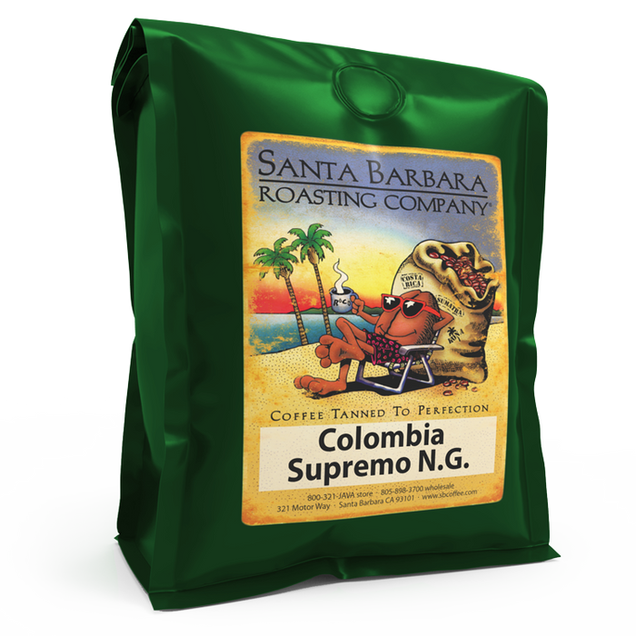 Colombia Supremo N.G. - Coffee - Santa Barbara Roasting Company